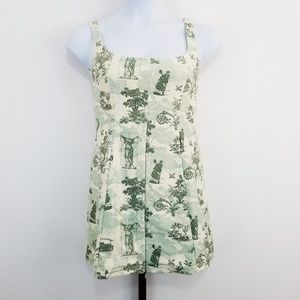 Nike Dri-Fit Medium Green Toile Tennis Dress